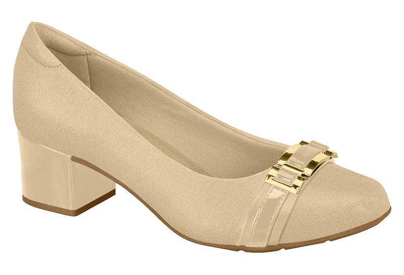 Sapato feminino Modare Ultra Conforto Com Salto 7316.114 Napa Sense
