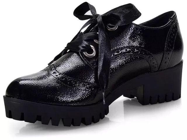 Sapato Feminino Oxford Via Marte 18-608