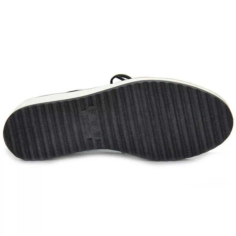 Sapato Feminino Quiz Oxford 68-64224 Flatform Preto