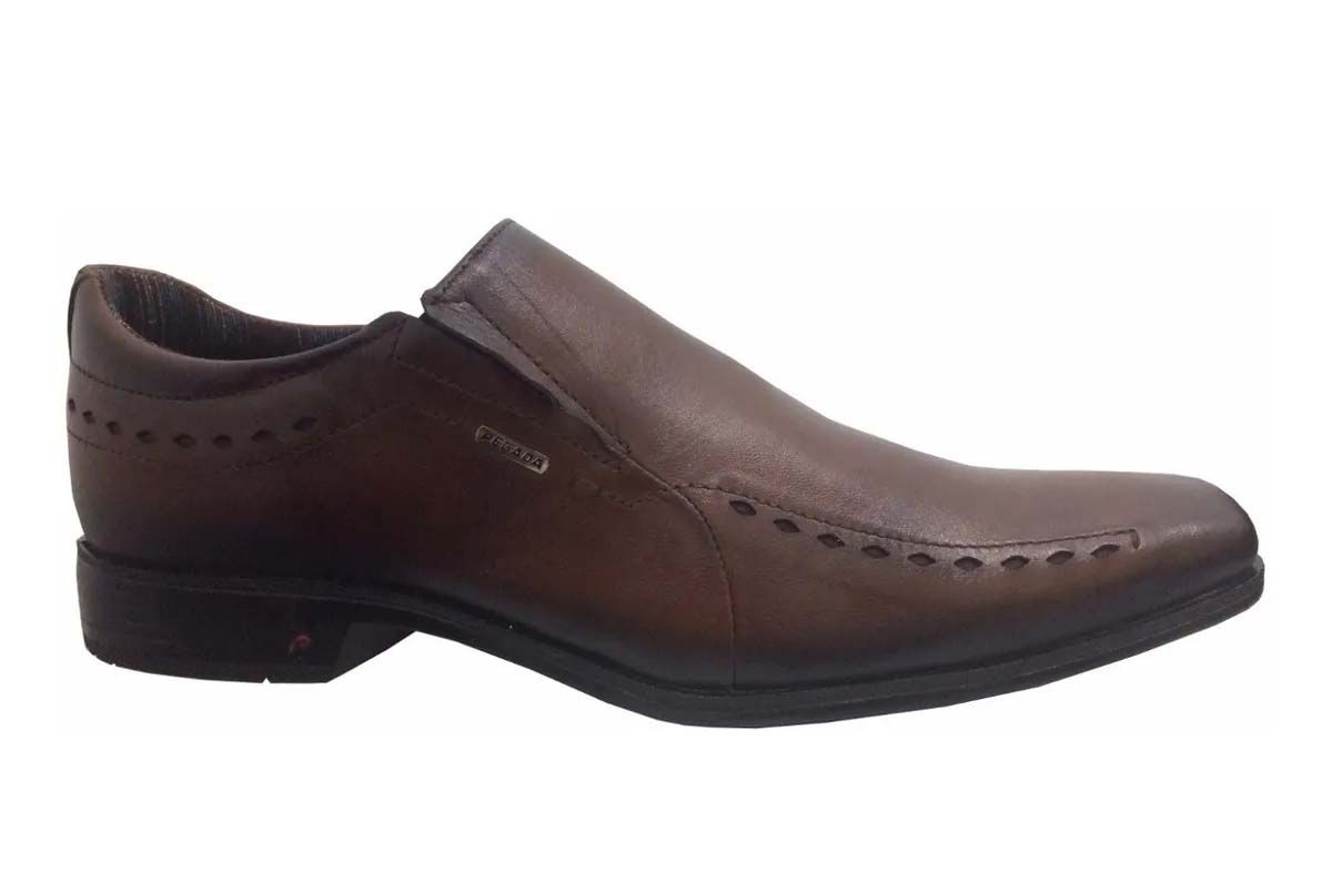 Sapato Masculino Pegada 124204 Telha