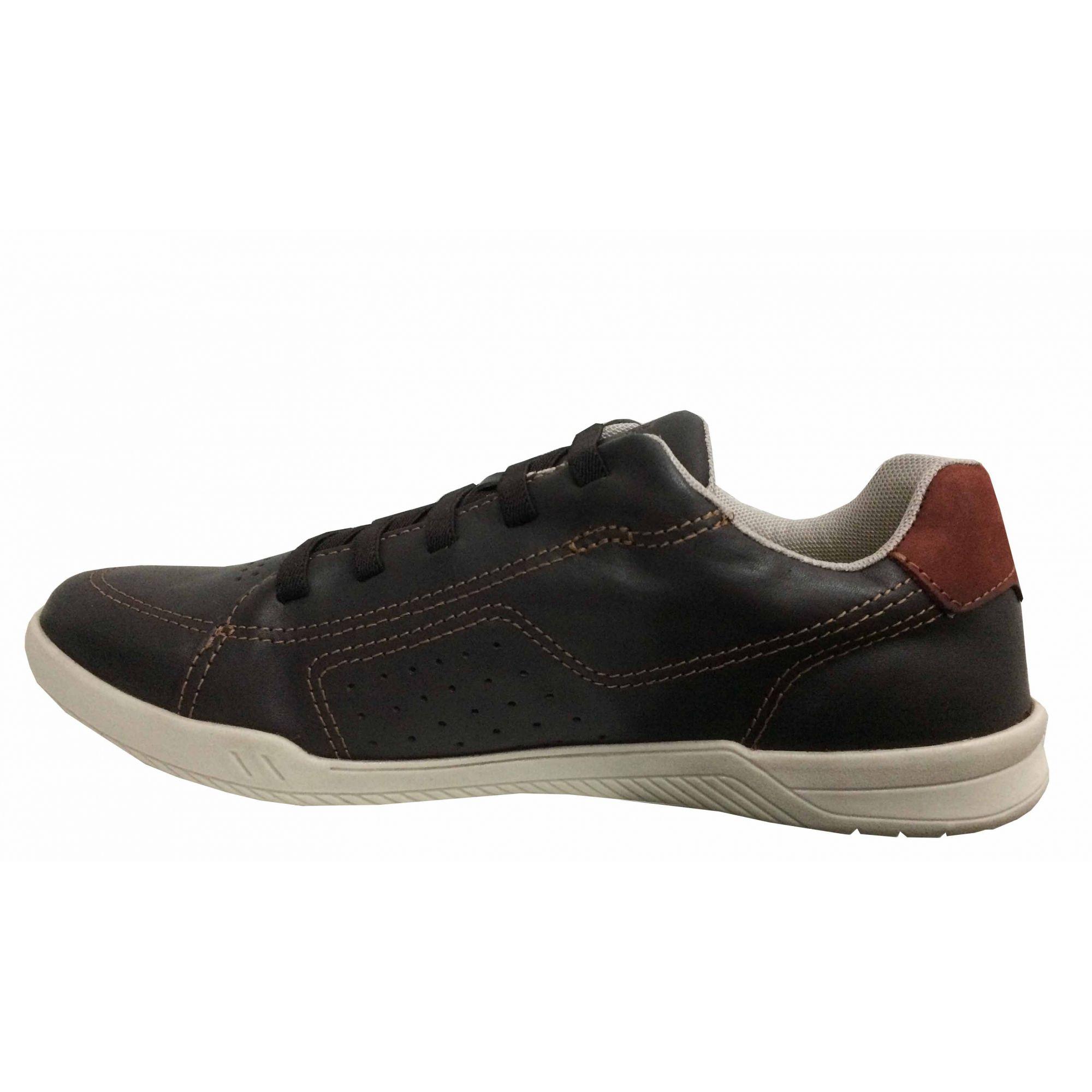Sapato Masculino West Coast 184601cp CAFÉ