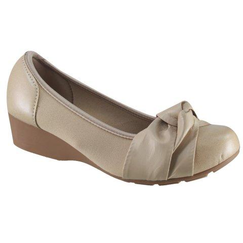 Sapato Modare Ultraconforto Anabela 7014141 Especial Joanete