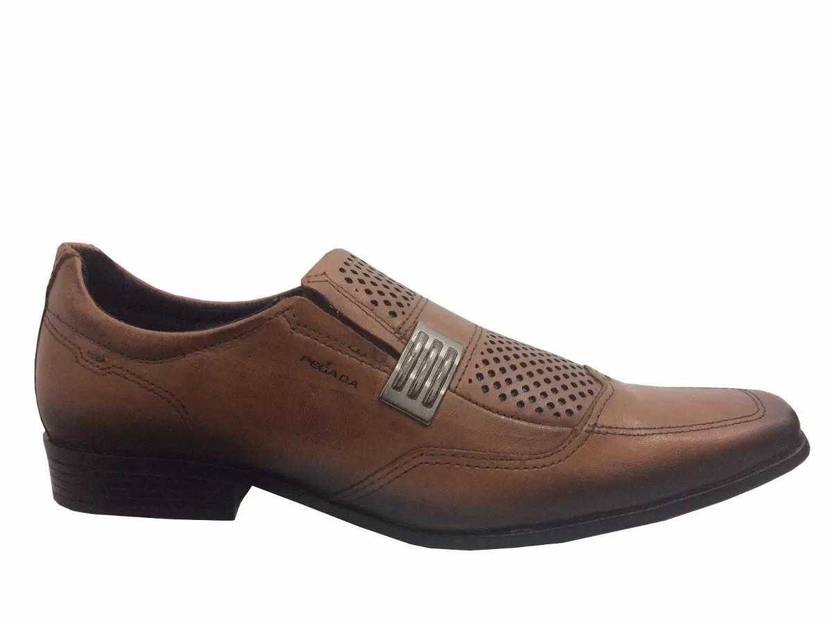 Sapato Masculino Pegada Couro 124401-02 ABRASINATO