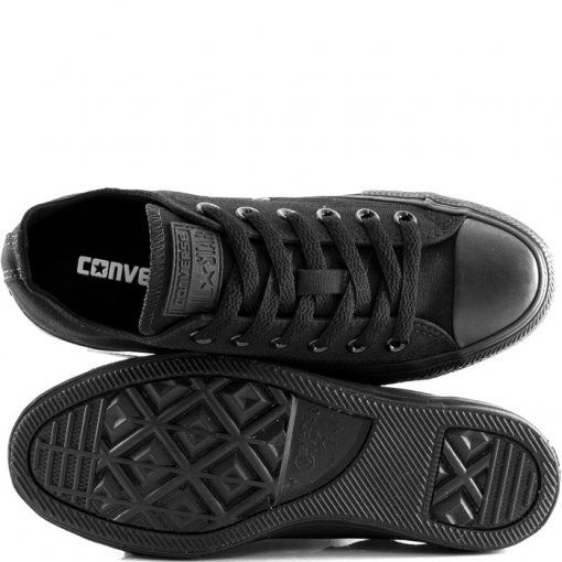 Tênis Converse All Star Monochrome Ox Preto Rock Ct446 10446