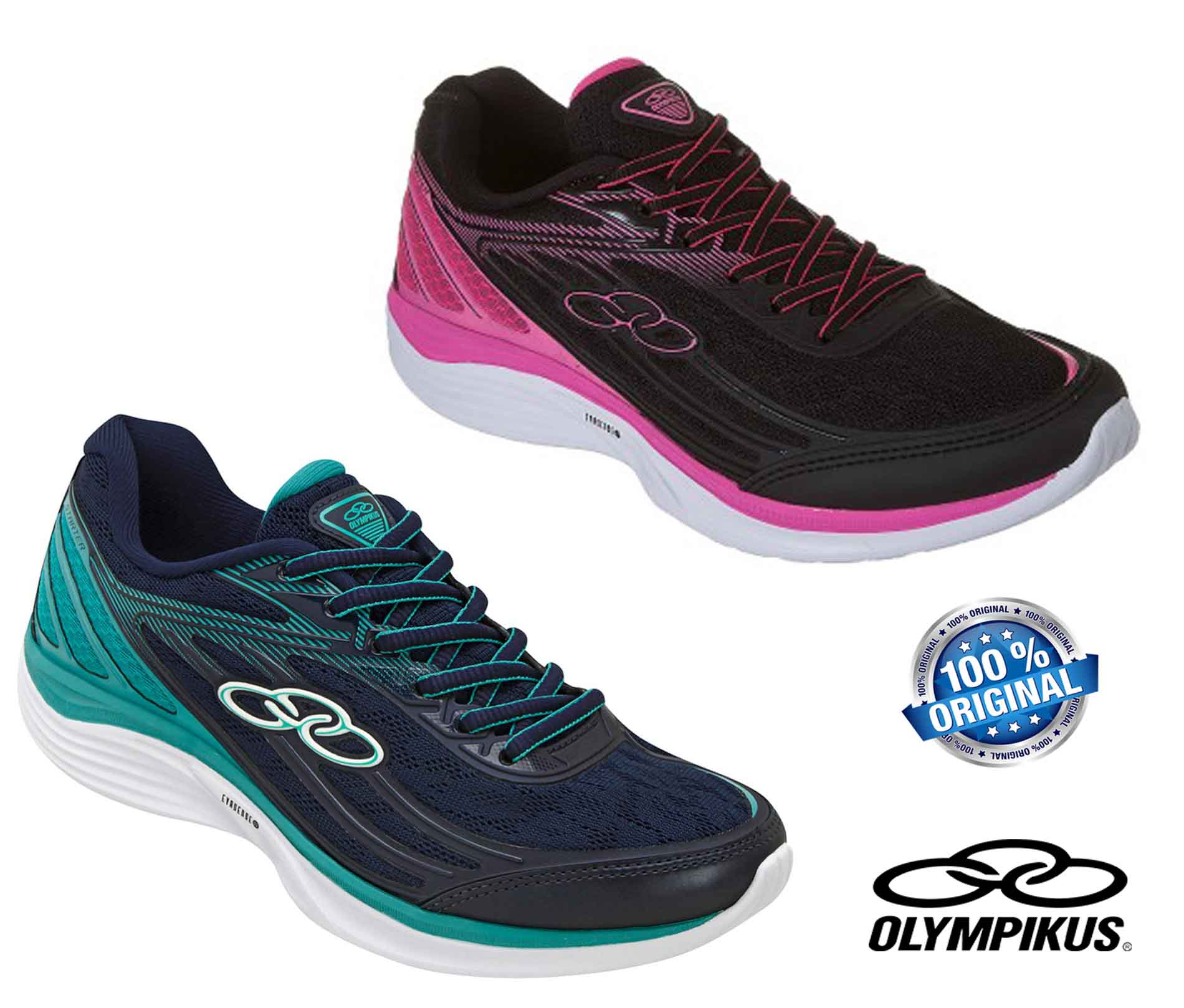 Tênis Feminino Olympikus Starter/341 Marinho E Preto - 20341