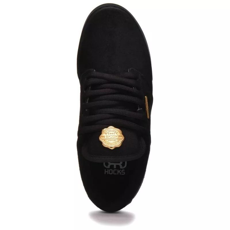 Tênis Hocks Montreal Black Gold PRETO Original UNISSEX