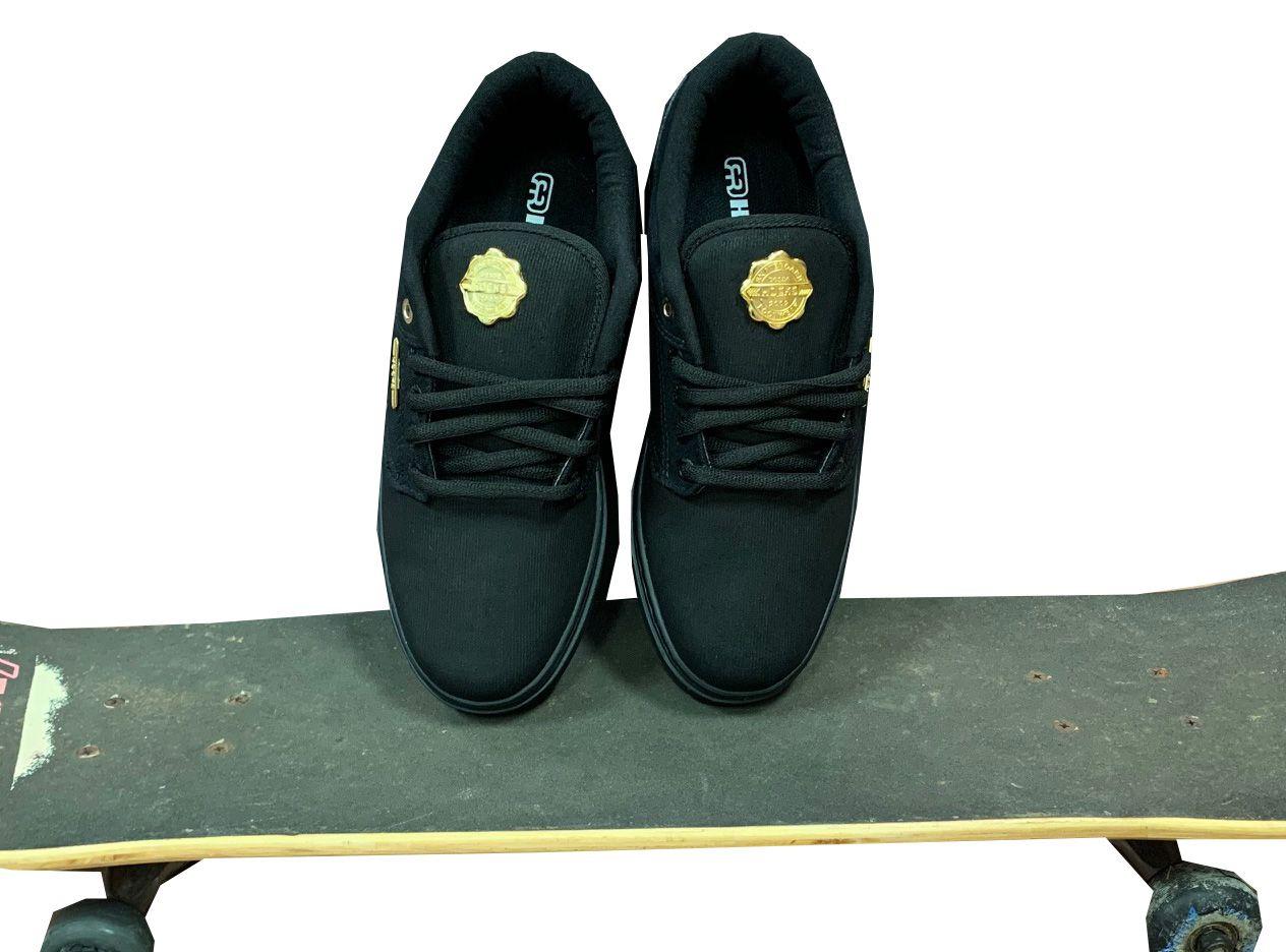 Tênis Hocks Montreal Black Gold PRETO Original UNISSEX