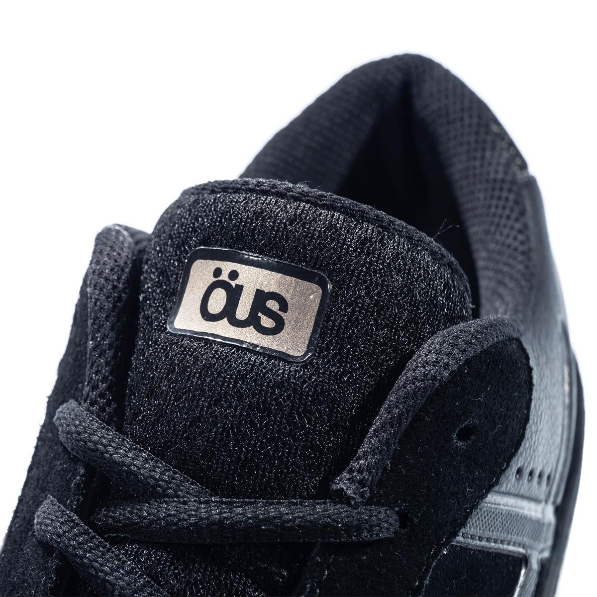 Tênis Ous Emergente All Black Gold Essencial Skate