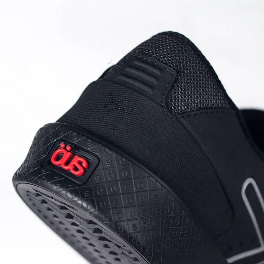 Tênis Ous Emergente All Black preto Essencial Skate Unissex