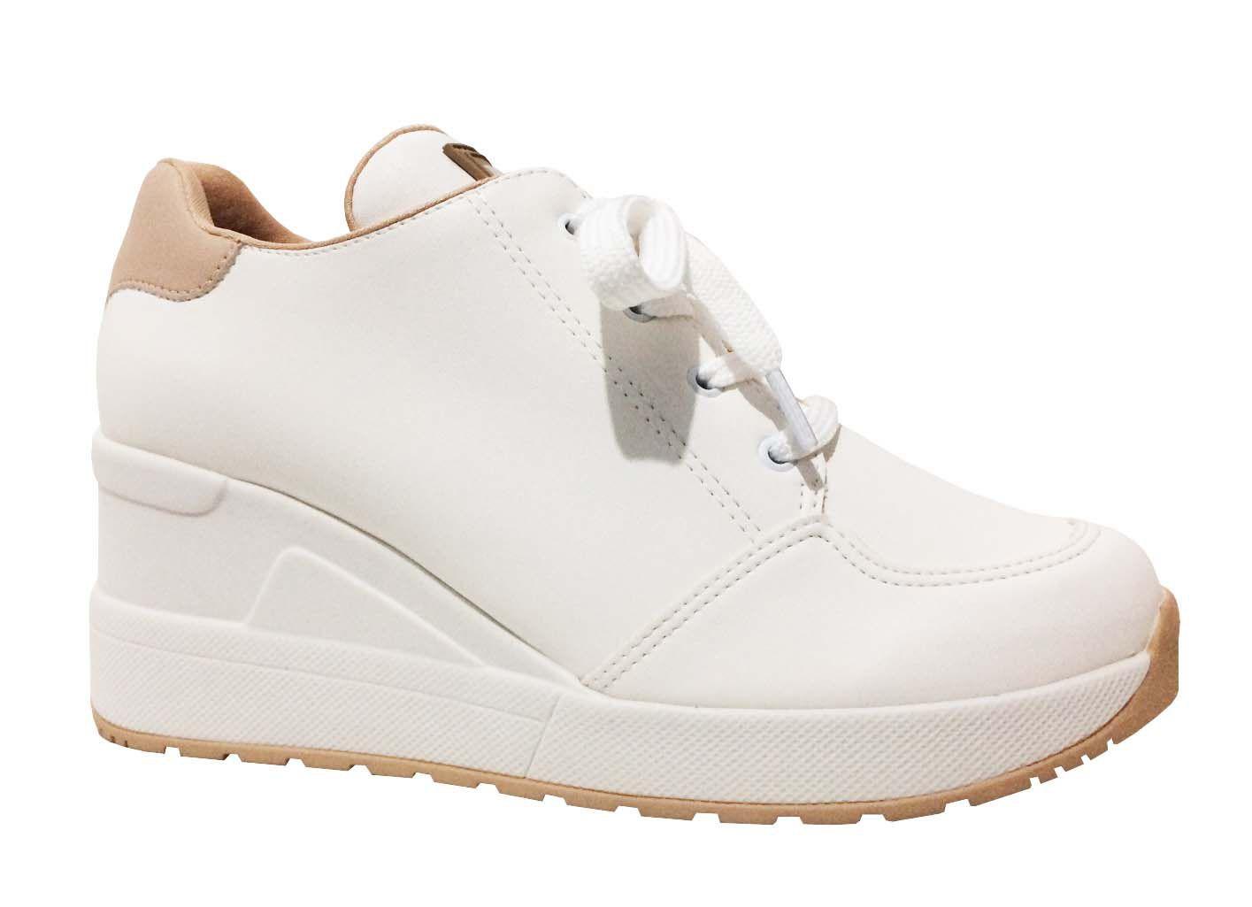 Tênis Quiz 67-37935 Sneaker Feminino branco