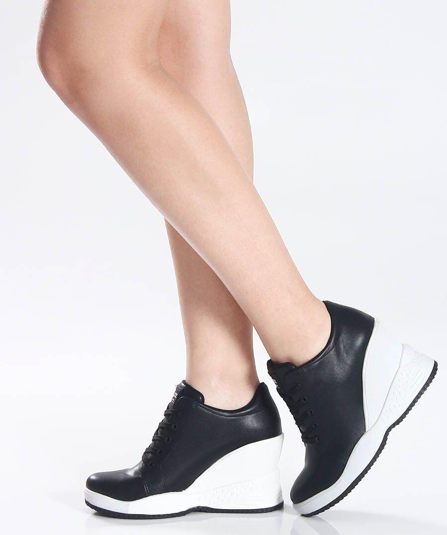 Tênis Quiz Sneaker 67-19901 Feminino Preto