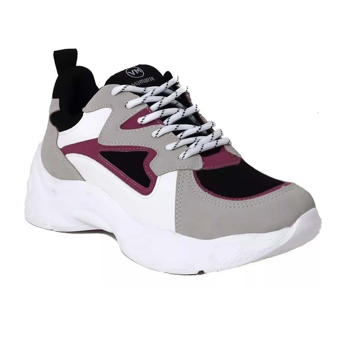 Tênis Via Marte 20-206 Feminino Chunky Sneaker