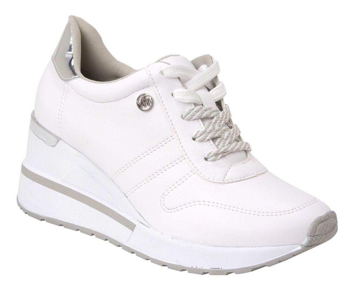 Tênis Via Marte Feminino 19-3302 Sneaker Branco