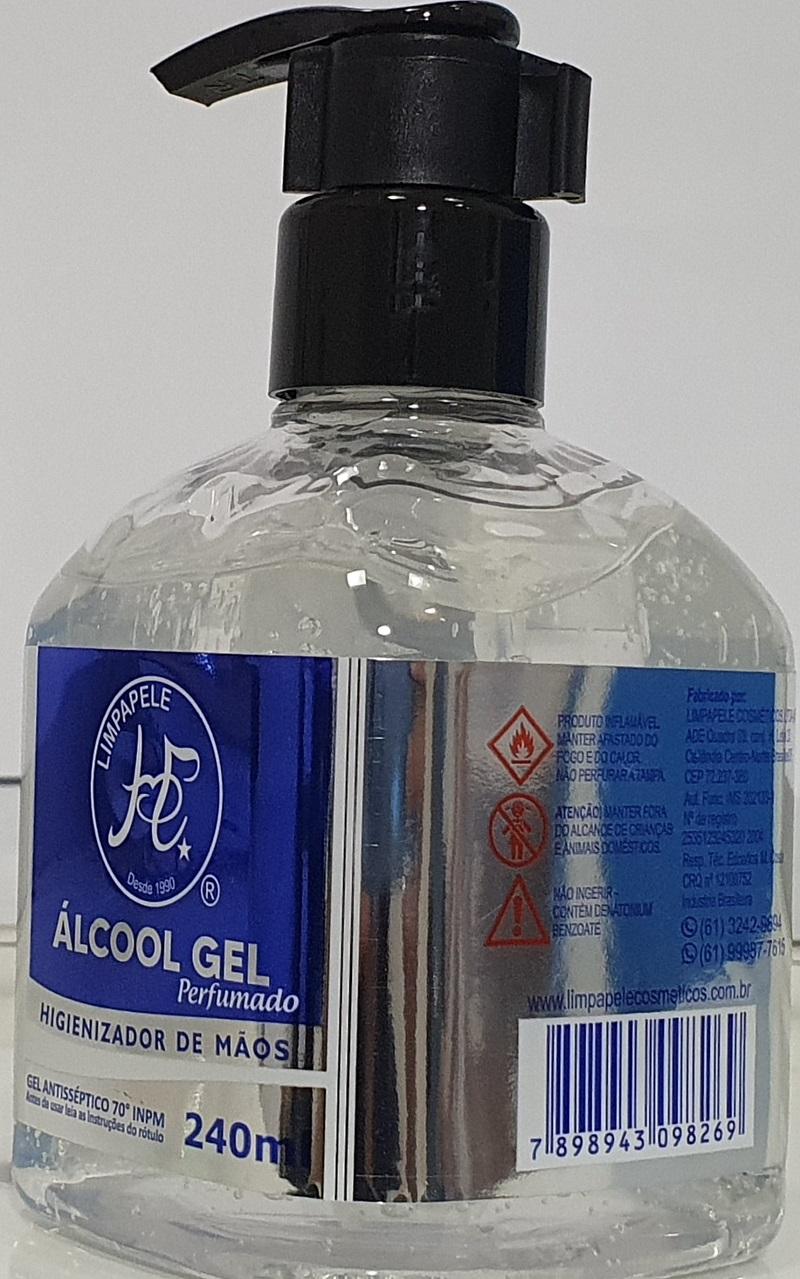 Álcool Gel Perfumado