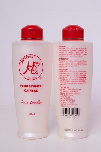 Hidratante Capilar Rosas Vermelhas - 350 ml