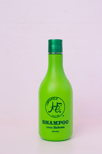 Shampoo com Babosa - 550 ml