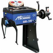 "Balanceadora de Rodas Manual p/ Bancada | Aro 10"" a 24"" | 220V Monofásico - Máquinas Ribeiro"