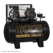 Compressor de Ar Bravo CSL 15BR/180 3hp 220V Trifásico - Schulz