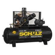 Compressor de Ar Fort MSW 40/425 10hp 220/380V Triásico - Schulz