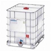 Contentor IBC Leitoso c/ Grade Metálica c/ Inmetro - 1000L