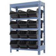 Estante Porta-Componentes p/ 12 Caixas de 3kg - Nocram