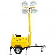 Gerador Toyama c/ Torre de Iluminação TDMLG4004-T9C Diesel 9KVA 220V Mastro de 9m