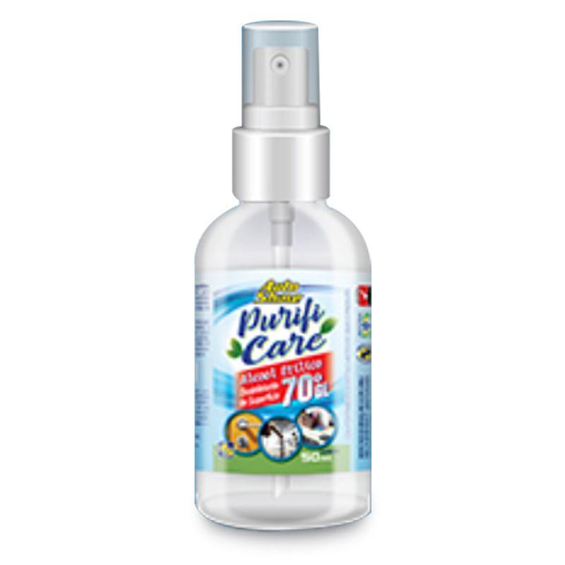 Álcool 70 Desinfectante de Superfícies Spray - 500mL
