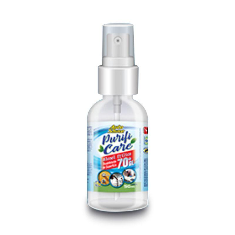 Álcool 70 Desinfectante de Superfícies Spray - 50mL
