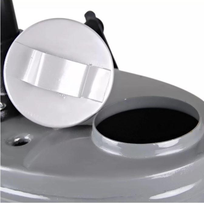 Balde de Óleo Oval 18 Litros para Câmbio e Diferencial Cinza - Cobel