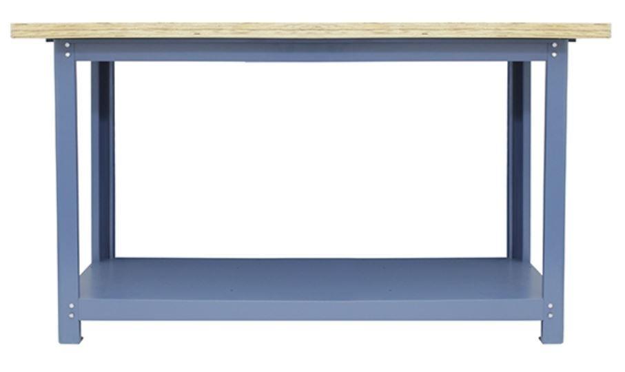 Bancada p/ Oficina 150 x 60cm c/ Tampo Inferior - Nocram