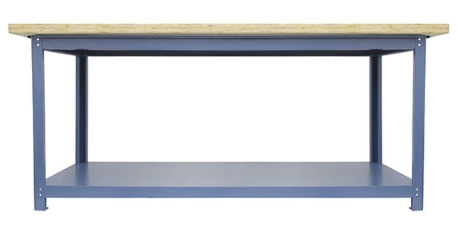 Bancada p/ Oficina 200 x 80cm c/ Tampo Inferior - Nocram