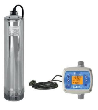 Bomba Submersa Elétrica c/ Controlador p/ Arla 32 - 75Lpm