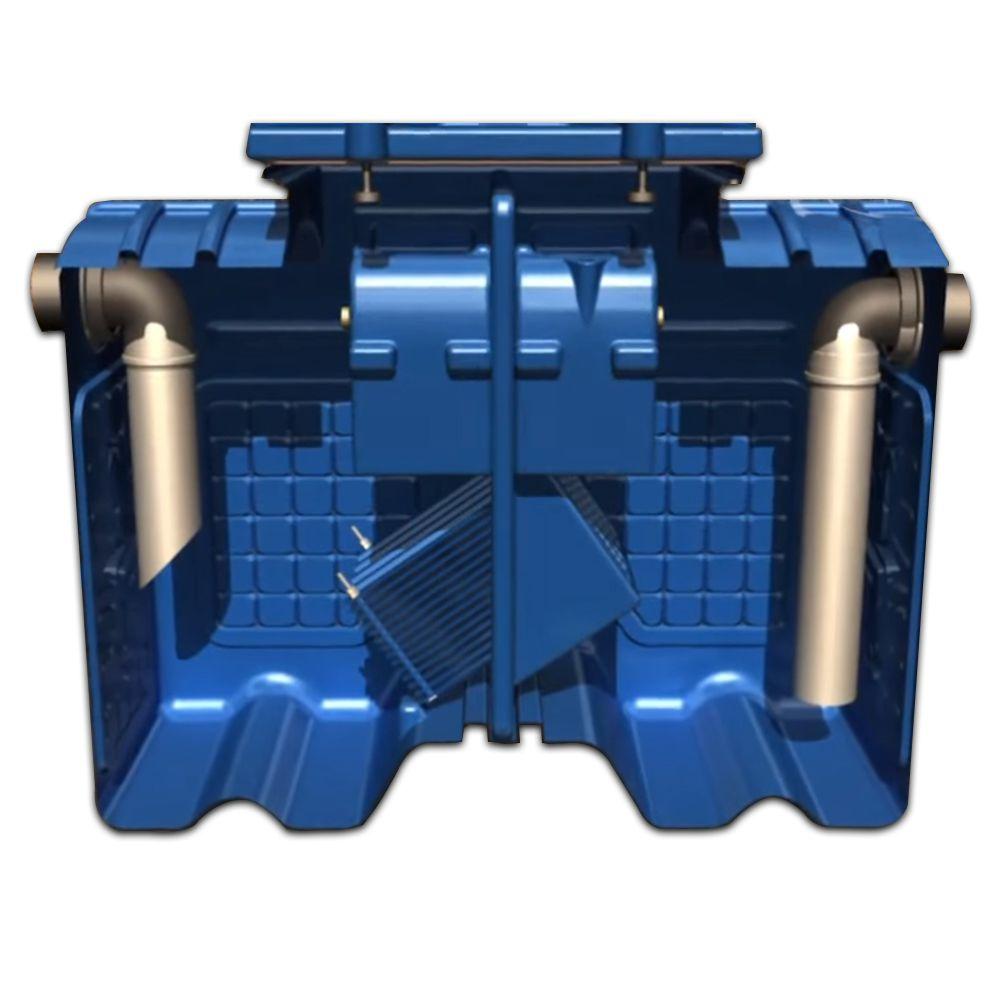 Caixa Separadora de Água e Óleo - 1.000 L/H