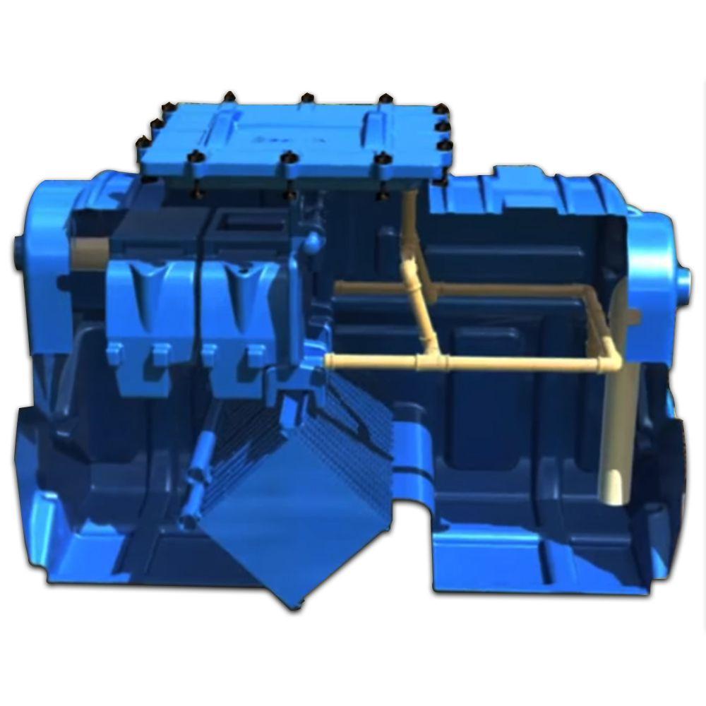 Caixa Separadora de Água e Óleo - 12.000 L/H