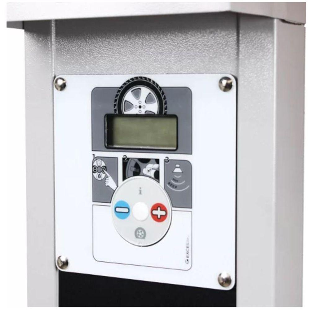 Calibrador de Pneu c/ Pedestal e Teto - PNAU 04