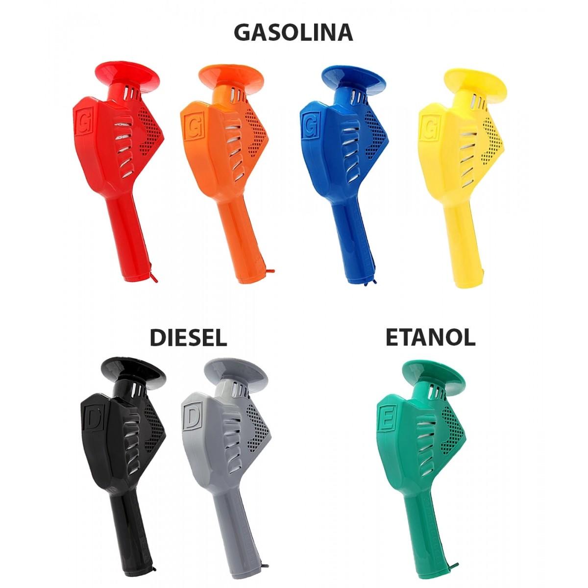 Capa para Bico 3x1   Capa Protetora   Suporte de Mangueira   Protetor de Respingo - Verde Etanol