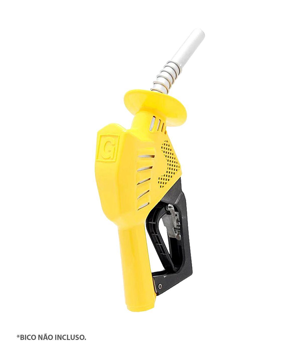 Capa para Bico 3x1 - Capa Protetora | Suporte de Mangueira | Protetor de Respingo - Amarelo Gasolina