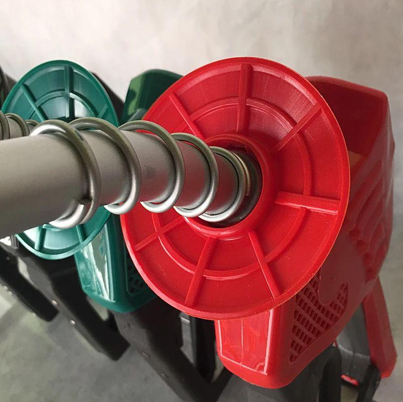 Capa para Bico 3x1 - Capa Protetora | Suporte de Mangueira | Protetor de Respingo - Vermelho Gasolina
