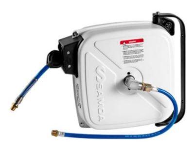 Carretel Automático Blindado p/ Ar ou Água - 15 Metros