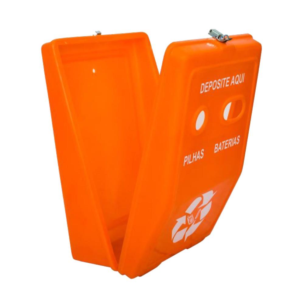 Coletor de Pilhas e Baterias - 30 Litros