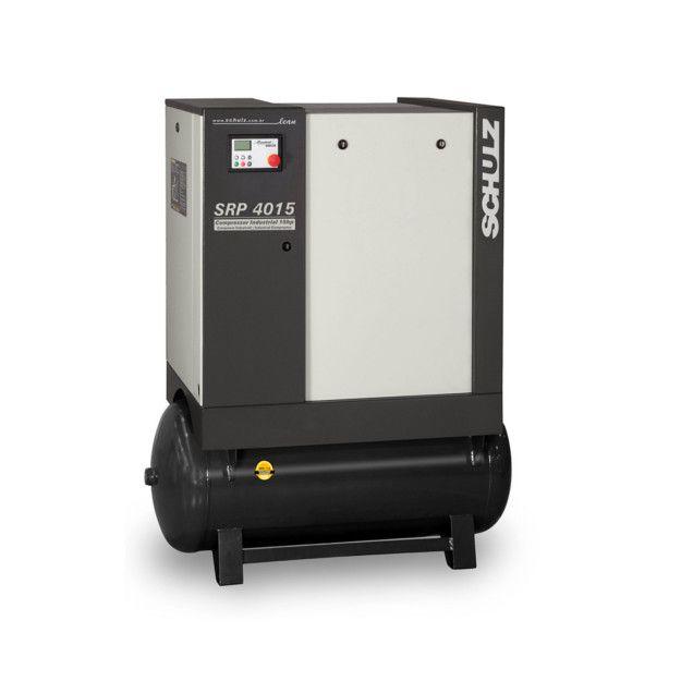 Compressor de Ar de Parafuso Industrial c/ Reservatório| SRP 4015E LEAN