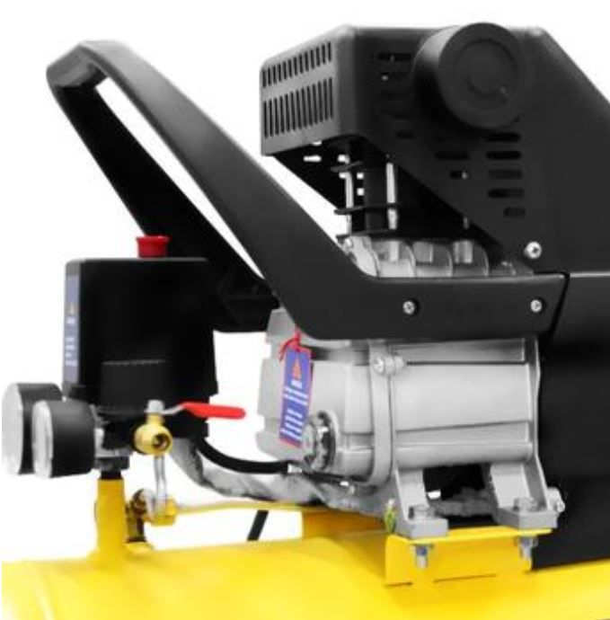 Compressor de Ar Móvel Mega Turbo | 35 Litros | Bivolt | 2 hp - Ferrari