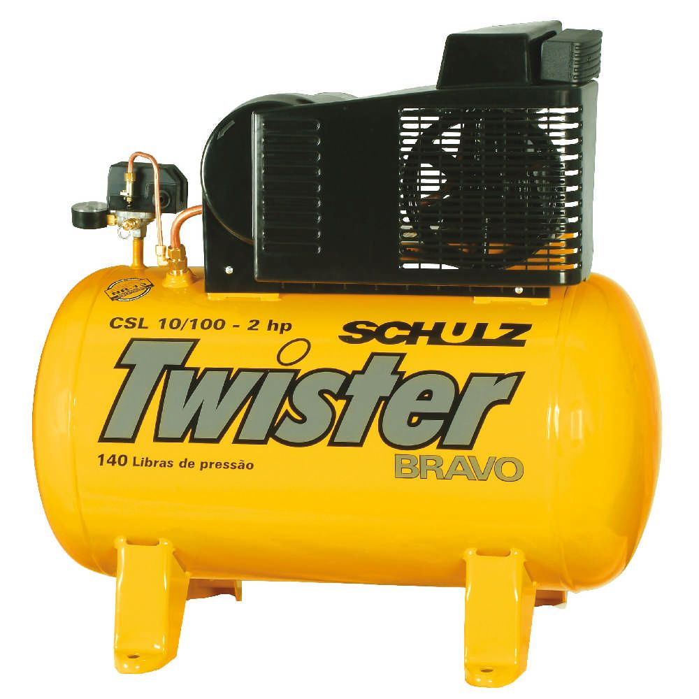 Compressor Twister Bravo CSL 10/100 - 2hp