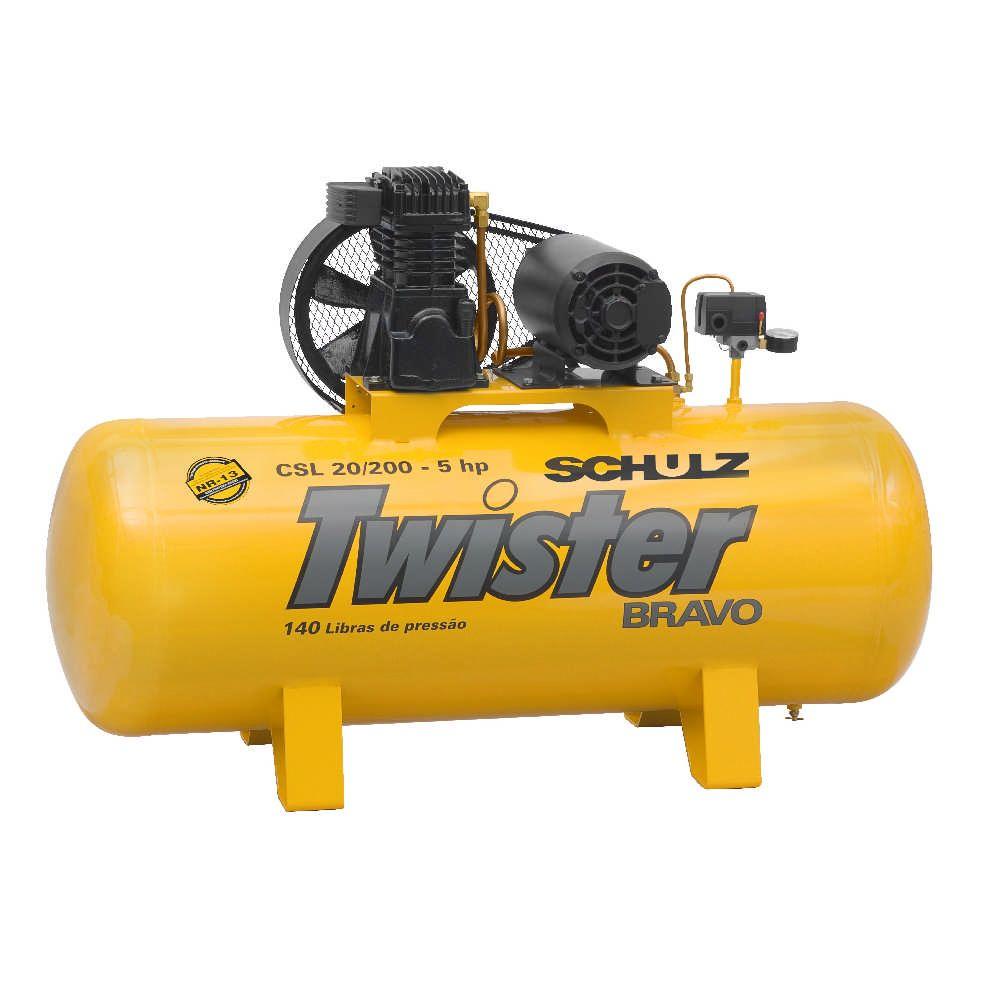 Compressor Twister Bravo CSL 20/200 - 5hp