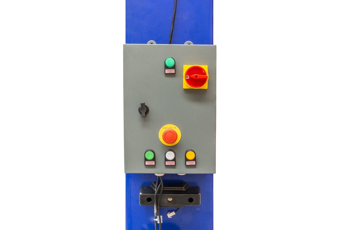 Elevador Automotivo Hidráulico de Coluna c/ Painel Elétrico   4.000 Kg   220V Monofásico - Máquinas Ribeiro