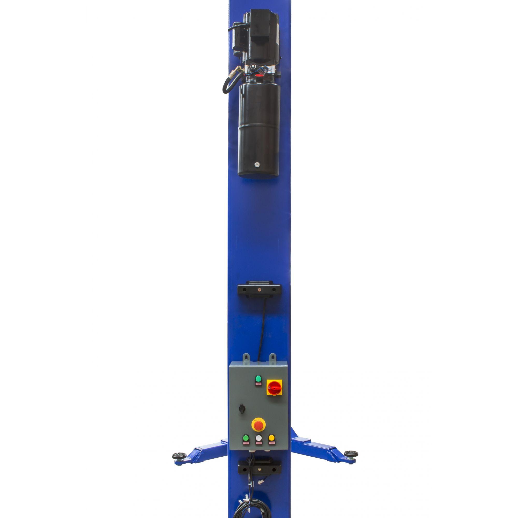 Elevador Automotivo Hidráulico de Coluna c/ Pórtico e Painel Elétrico   4.000 Kg   220V Monofásico - Máquinas Ribeiro