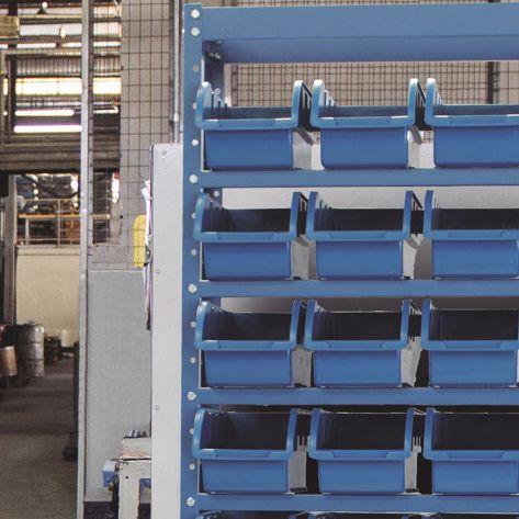 Estante Porta-Componentes p/ 108 Caixas de 1kg - Nocram