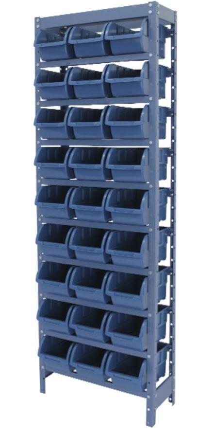 Estante Porta-Componentes p/ 27 Caixas de 3kg - Nocram