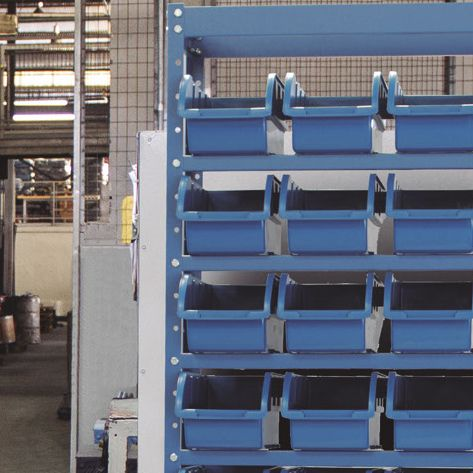 Estante Porta-Componentes p/ 60 Caixas de 1kg - Nocram