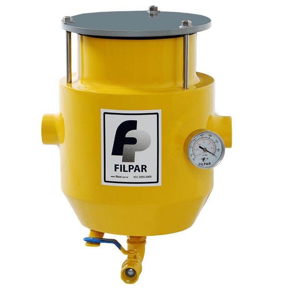 Filtro de Linha Desidratador p/ 01 Bomba - p/ Comboios| Diesel | FP600C - Filpar